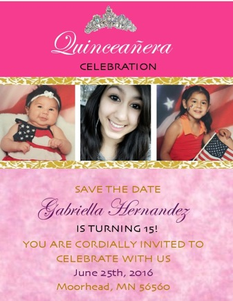 quince save the dates